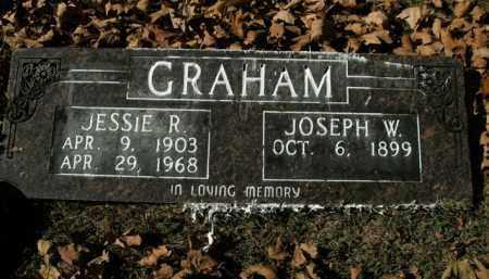 GRAHAM, JESSIE R. - Boone County, Arkansas | JESSIE R. GRAHAM - Arkansas Gravestone Photos