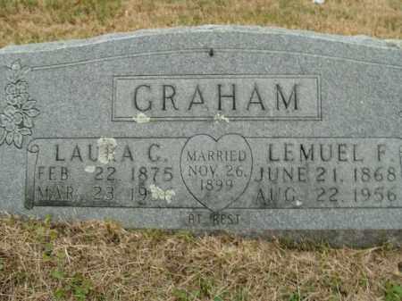 GRAHAM, LAURA C. - Boone County, Arkansas | LAURA C. GRAHAM - Arkansas Gravestone Photos