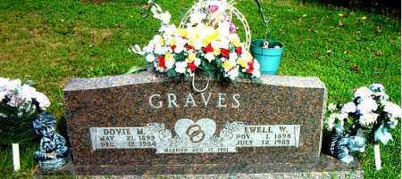 GRAVES, DOVIE  M. - Boone County, Arkansas   DOVIE  M. GRAVES - Arkansas Gravestone Photos
