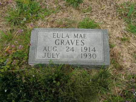 GRAVES, EULA MAE - Boone County, Arkansas | EULA MAE GRAVES - Arkansas Gravestone Photos