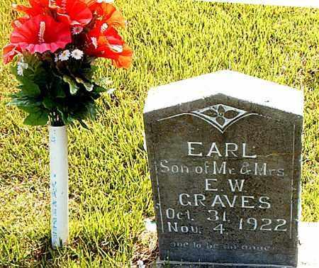 GRAVES, EARL - Boone County, Arkansas | EARL GRAVES - Arkansas Gravestone Photos