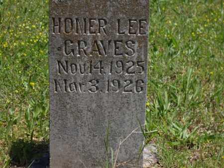 GRAVES, HOMER LEE - Boone County, Arkansas | HOMER LEE GRAVES - Arkansas Gravestone Photos