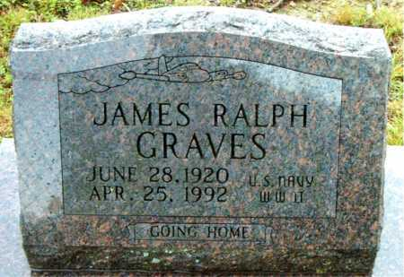 GRAVES  (VETERAN WWII), JAMES  RALPH - Boone County, Arkansas | JAMES  RALPH GRAVES  (VETERAN WWII) - Arkansas Gravestone Photos