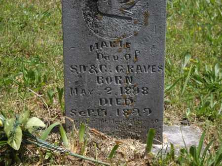 GRAVES, MARIE - Boone County, Arkansas | MARIE GRAVES - Arkansas Gravestone Photos