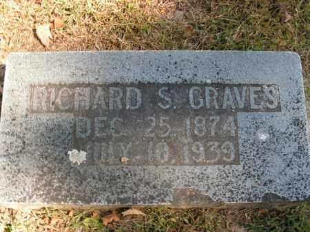 GRAVES, RICHARD S. - Boone County, Arkansas | RICHARD S. GRAVES - Arkansas Gravestone Photos