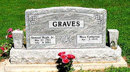 GRAVES, JR, SAMUEL HUGH - Boone County, Arkansas | SAMUEL HUGH GRAVES, JR - Arkansas Gravestone Photos