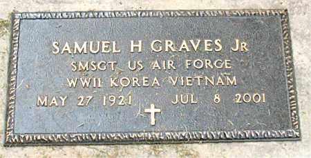 GRAVES, JR  (VETERAN 3 WARS), SAMUEL H - Boone County, Arkansas | SAMUEL H GRAVES, JR  (VETERAN 3 WARS) - Arkansas Gravestone Photos