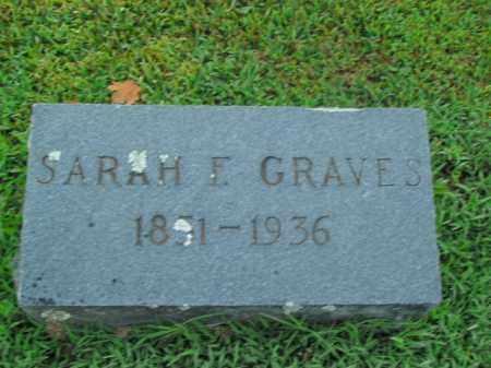 GRAVES, SARAH F. - Boone County, Arkansas | SARAH F. GRAVES - Arkansas Gravestone Photos