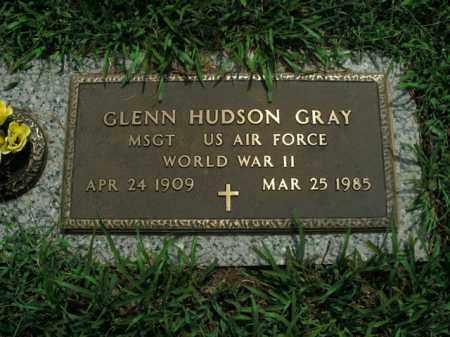 GRAY  (VETERAN WWII), GLENN HUDSON - Boone County, Arkansas | GLENN HUDSON GRAY  (VETERAN WWII) - Arkansas Gravestone Photos