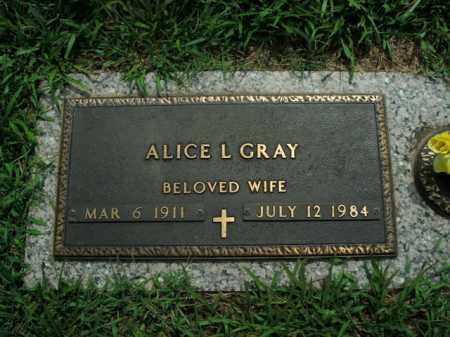 BLALOCK GRAY, ALICE L. - Boone County, Arkansas | ALICE L. BLALOCK GRAY - Arkansas Gravestone Photos
