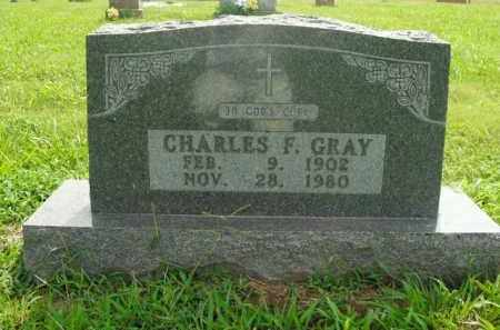 GRAY, CHARLES F. - Boone County, Arkansas   CHARLES F. GRAY - Arkansas Gravestone Photos