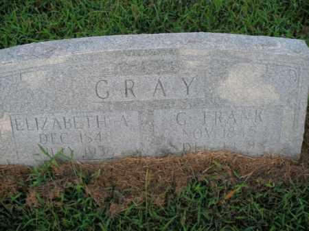 GRAY, G. FRANK - Boone County, Arkansas | G. FRANK GRAY - Arkansas Gravestone Photos
