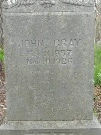 GRAY, JOHN - Boone County, Arkansas | JOHN GRAY - Arkansas Gravestone Photos