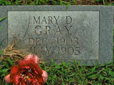 GRAY, MARY D. - Boone County, Arkansas | MARY D. GRAY - Arkansas Gravestone Photos