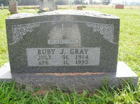 GRAY, RUBY J. - Boone County, Arkansas   RUBY J. GRAY - Arkansas Gravestone Photos