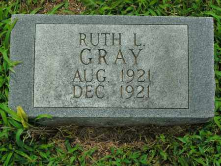GRAY, RUTH L. - Boone County, Arkansas | RUTH L. GRAY - Arkansas Gravestone Photos