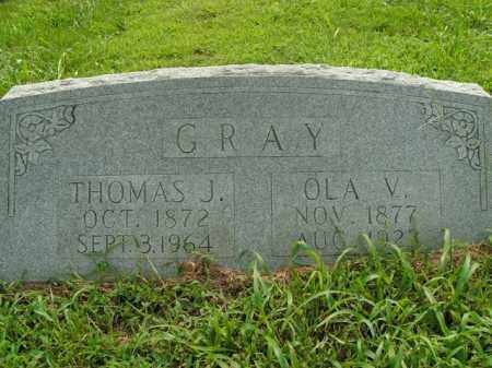 GRAY, OLA V. - Boone County, Arkansas | OLA V. GRAY - Arkansas Gravestone Photos