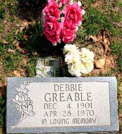 GREABLE, DEBBIE - Boone County, Arkansas   DEBBIE GREABLE - Arkansas Gravestone Photos