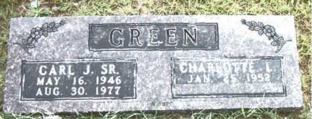 GREEN  SR, CARL  J. - Boone County, Arkansas | CARL  J. GREEN  SR - Arkansas Gravestone Photos