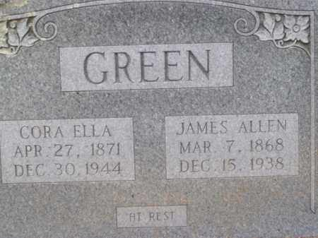 GREEN, JAMES ALLEN - Boone County, Arkansas | JAMES ALLEN GREEN - Arkansas Gravestone Photos