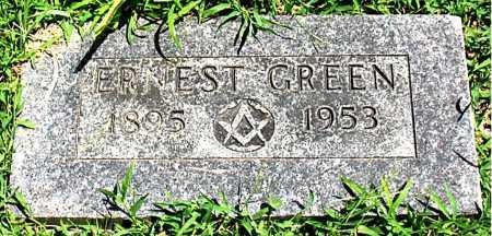GREEN, ERNEST - Boone County, Arkansas | ERNEST GREEN - Arkansas Gravestone Photos