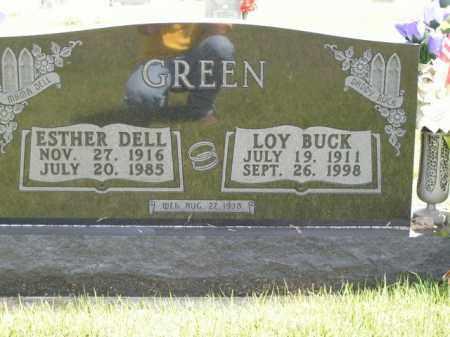 GREEN, LOY BUCK - Boone County, Arkansas | LOY BUCK GREEN - Arkansas Gravestone Photos