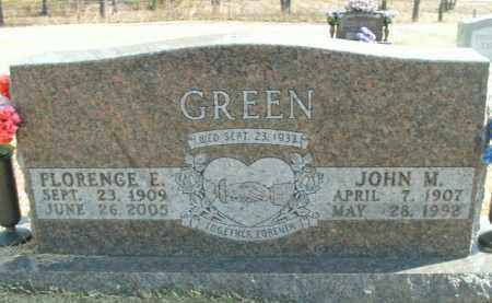 GREEN, FLORENCE E. - Boone County, Arkansas | FLORENCE E. GREEN - Arkansas Gravestone Photos