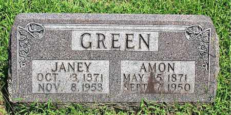 GREEN, AMON - Boone County, Arkansas | AMON GREEN - Arkansas Gravestone Photos