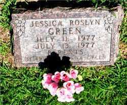 GREEN, JESSICA ROSLYN - Boone County, Arkansas   JESSICA ROSLYN GREEN - Arkansas Gravestone Photos