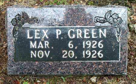 GREEN, LEX P. - Boone County, Arkansas | LEX P. GREEN - Arkansas Gravestone Photos