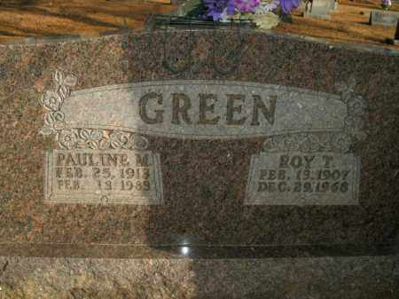 GREEN, ROY T. - Boone County, Arkansas | ROY T. GREEN - Arkansas Gravestone Photos