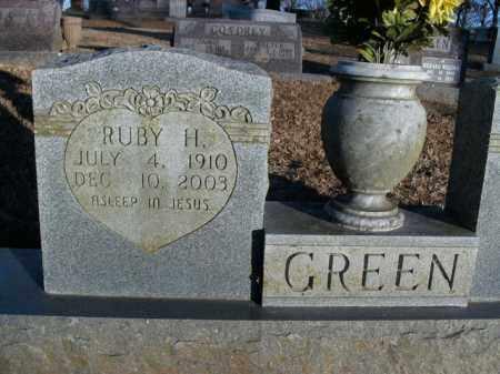 GREEN, RUBY HELEN - Boone County, Arkansas   RUBY HELEN GREEN - Arkansas Gravestone Photos