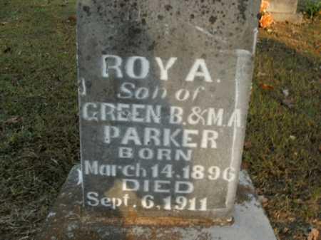 PARKER, ROY A. - Boone County, Arkansas   ROY A. PARKER - Arkansas Gravestone Photos
