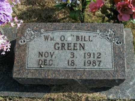 GREEN, WILLIAM O. - Boone County, Arkansas | WILLIAM O. GREEN - Arkansas Gravestone Photos
