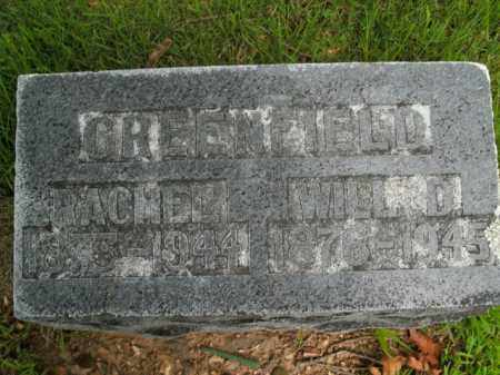 GREENFIELD, WILL D. - Boone County, Arkansas | WILL D. GREENFIELD - Arkansas Gravestone Photos