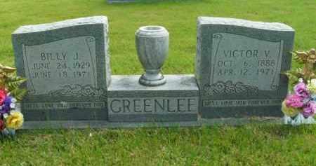GREENLEE, VICTOR V. - Boone County, Arkansas | VICTOR V. GREENLEE - Arkansas Gravestone Photos