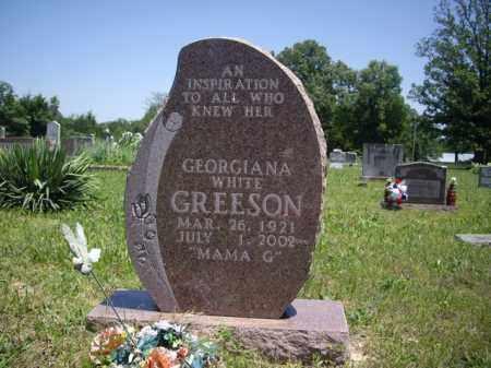 GREESON, GEORGIANA - Boone County, Arkansas   GEORGIANA GREESON - Arkansas Gravestone Photos