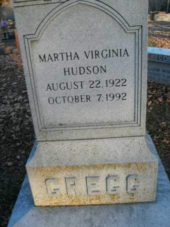 GREGG, MARTHA VIRGINIA - Boone County, Arkansas | MARTHA VIRGINIA GREGG - Arkansas Gravestone Photos
