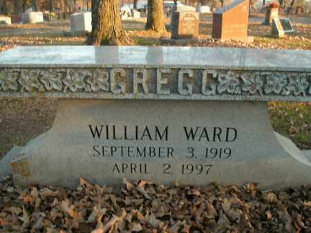 GREGG, WILLIAM WARD - Boone County, Arkansas | WILLIAM WARD GREGG - Arkansas Gravestone Photos