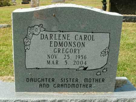 GREGORY, DARLENE CAROL - Boone County, Arkansas   DARLENE CAROL GREGORY - Arkansas Gravestone Photos
