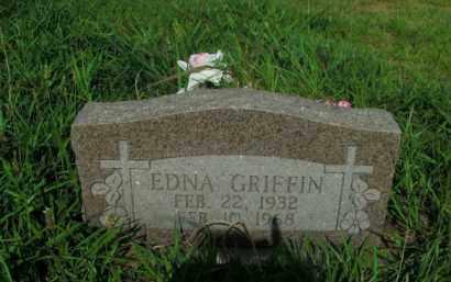 GRIFFIN, EDNA - Boone County, Arkansas | EDNA GRIFFIN - Arkansas Gravestone Photos