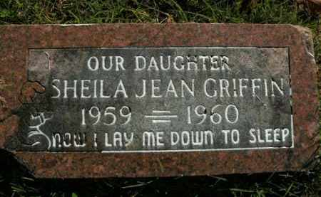 GRIFFIN, SHEILA JEAN - Boone County, Arkansas | SHEILA JEAN GRIFFIN - Arkansas Gravestone Photos