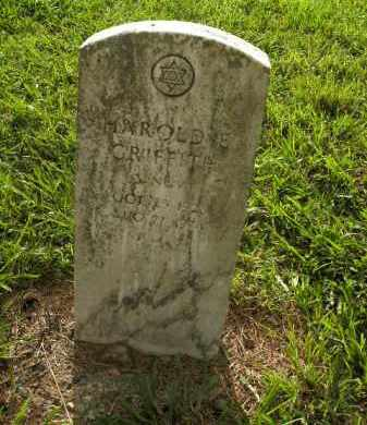 GRIFFITH  (VETERAN), HAROLD E. - Boone County, Arkansas | HAROLD E. GRIFFITH  (VETERAN) - Arkansas Gravestone Photos