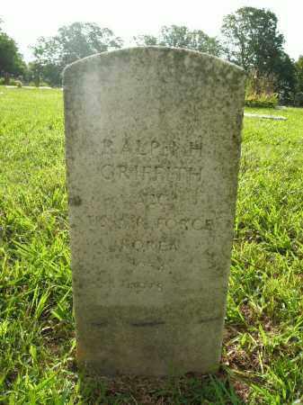 GRIFFITH  (VETERAN KOR), RALPH H. - Boone County, Arkansas | RALPH H. GRIFFITH  (VETERAN KOR) - Arkansas Gravestone Photos