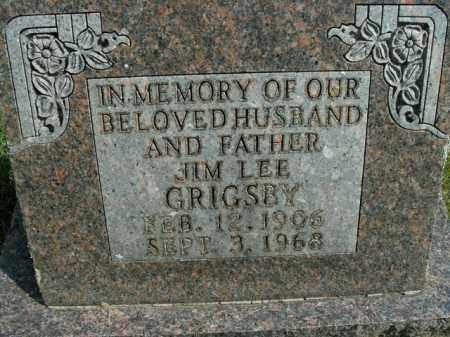 GRIGSBY, JIM LEE - Boone County, Arkansas   JIM LEE GRIGSBY - Arkansas Gravestone Photos