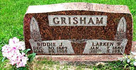 GRISHAM, LARKEN W. - Boone County, Arkansas | LARKEN W. GRISHAM - Arkansas Gravestone Photos