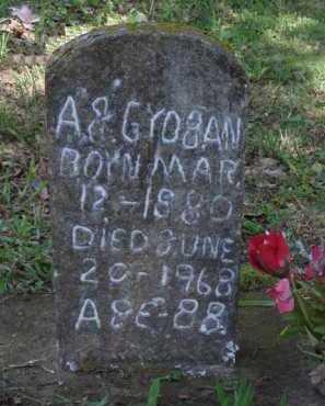 GROGAN, A. J. - Boone County, Arkansas | A. J. GROGAN - Arkansas Gravestone Photos