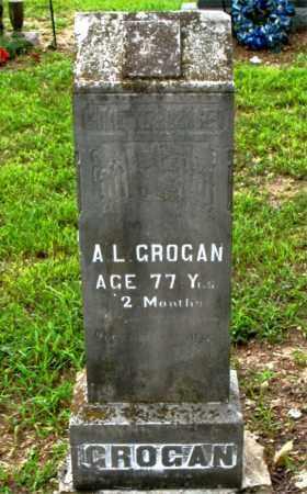 GROGAN, A.L. - Boone County, Arkansas   A.L. GROGAN - Arkansas Gravestone Photos