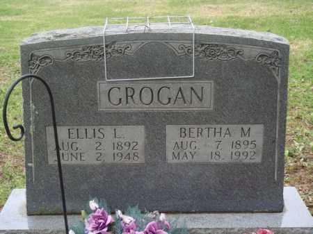 GROGAN, BERTHA M. - Boone County, Arkansas | BERTHA M. GROGAN - Arkansas Gravestone Photos