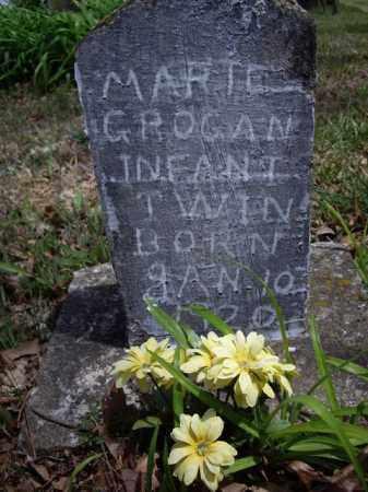 GROGAN, MARTE - Boone County, Arkansas   MARTE GROGAN - Arkansas Gravestone Photos